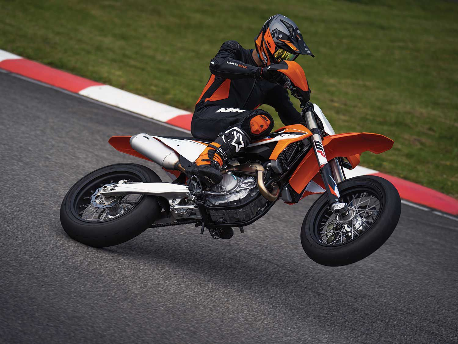 After a lengthy absence, KTM returns its closed-course and competition-spec 450 SMR to its 2021 US model lineup.