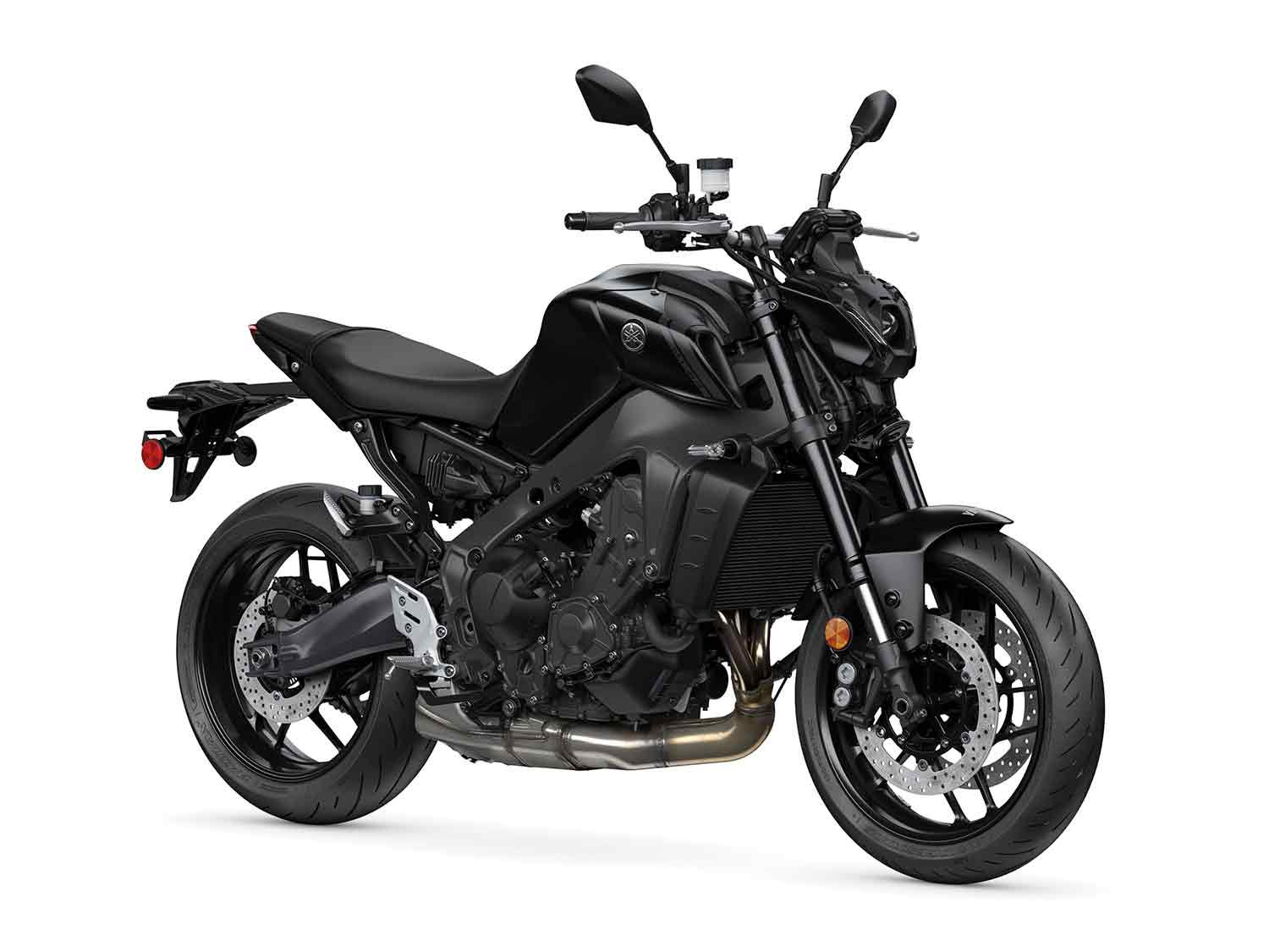 2021 Yamaha MT-09 in Raven Black colorway.
