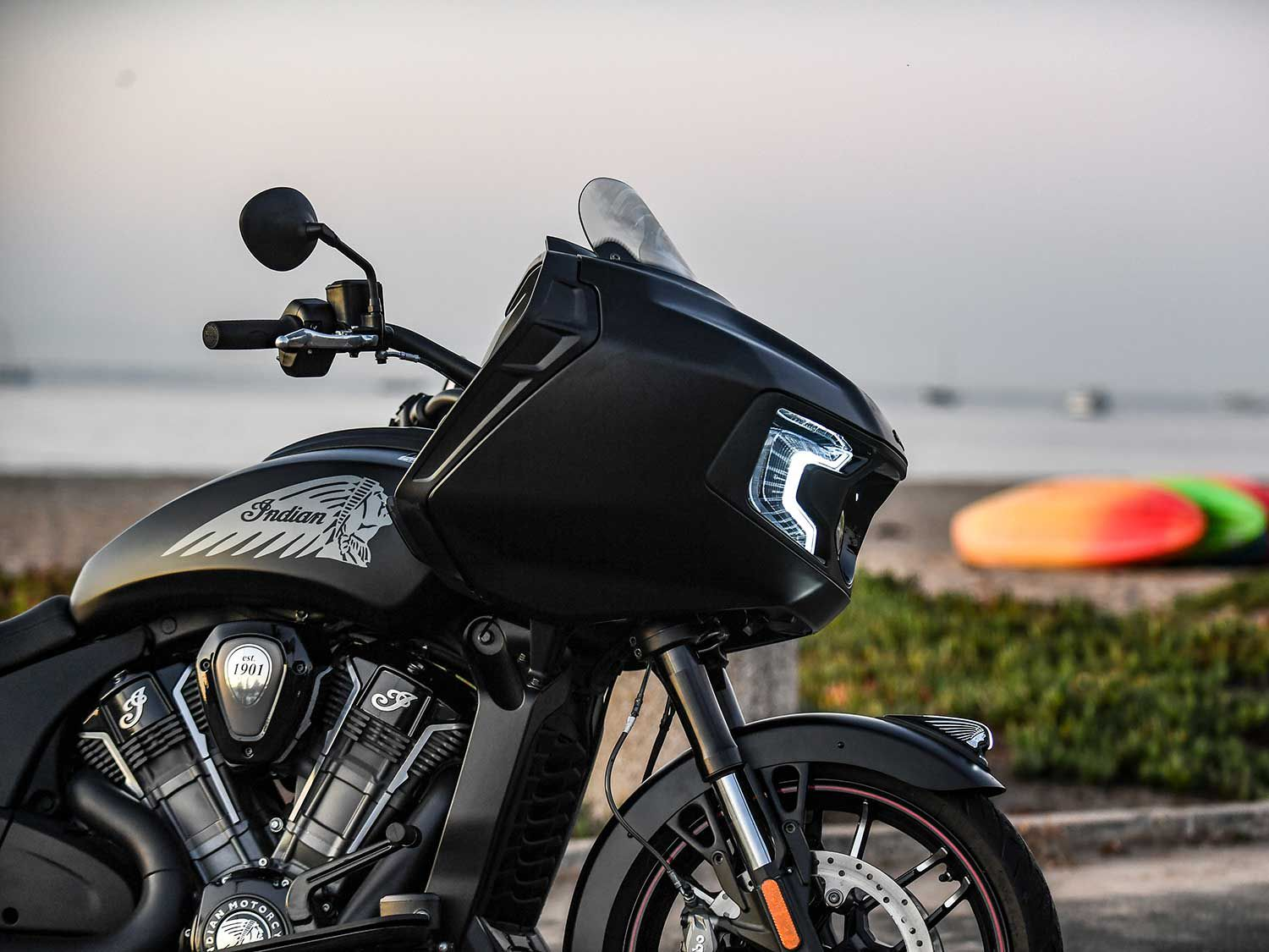 "<a  href=""https://www.motorcyclistonline.com/story/reviews/2020-indian-motorcycle-challenger-dark-horse-review-mc-commute/"">2020 Indian Motorcycle Challenger Dark Horse <em>MC Commute</em> Review </a>"
