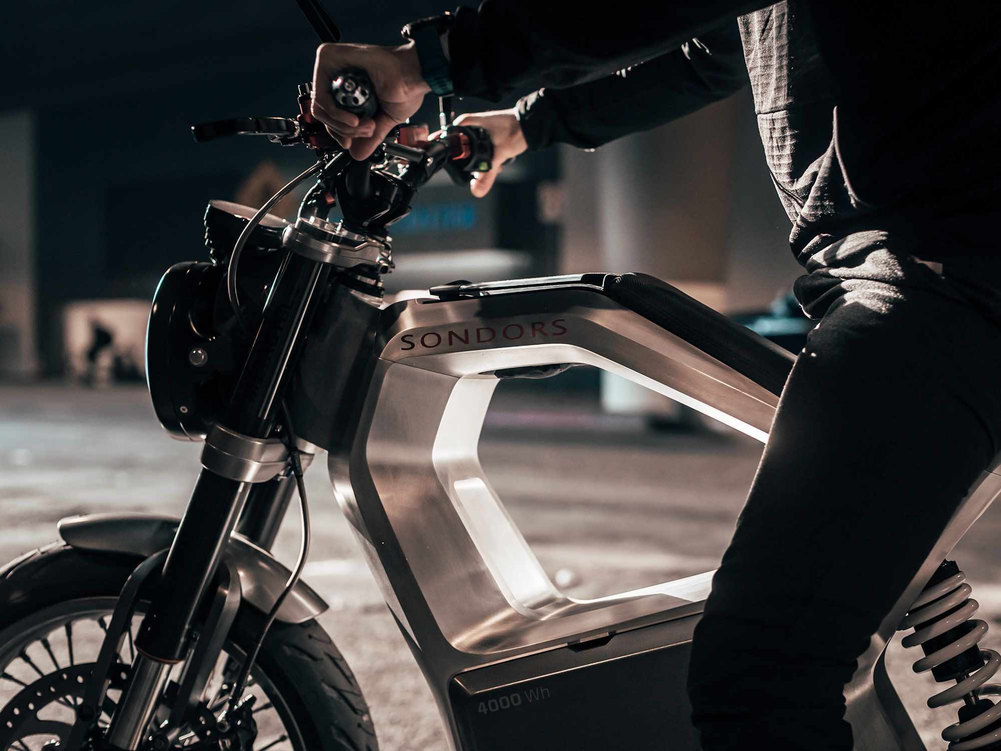 2021 Sondors Metacycle Electric Motorcycle First Look Photo Gallery