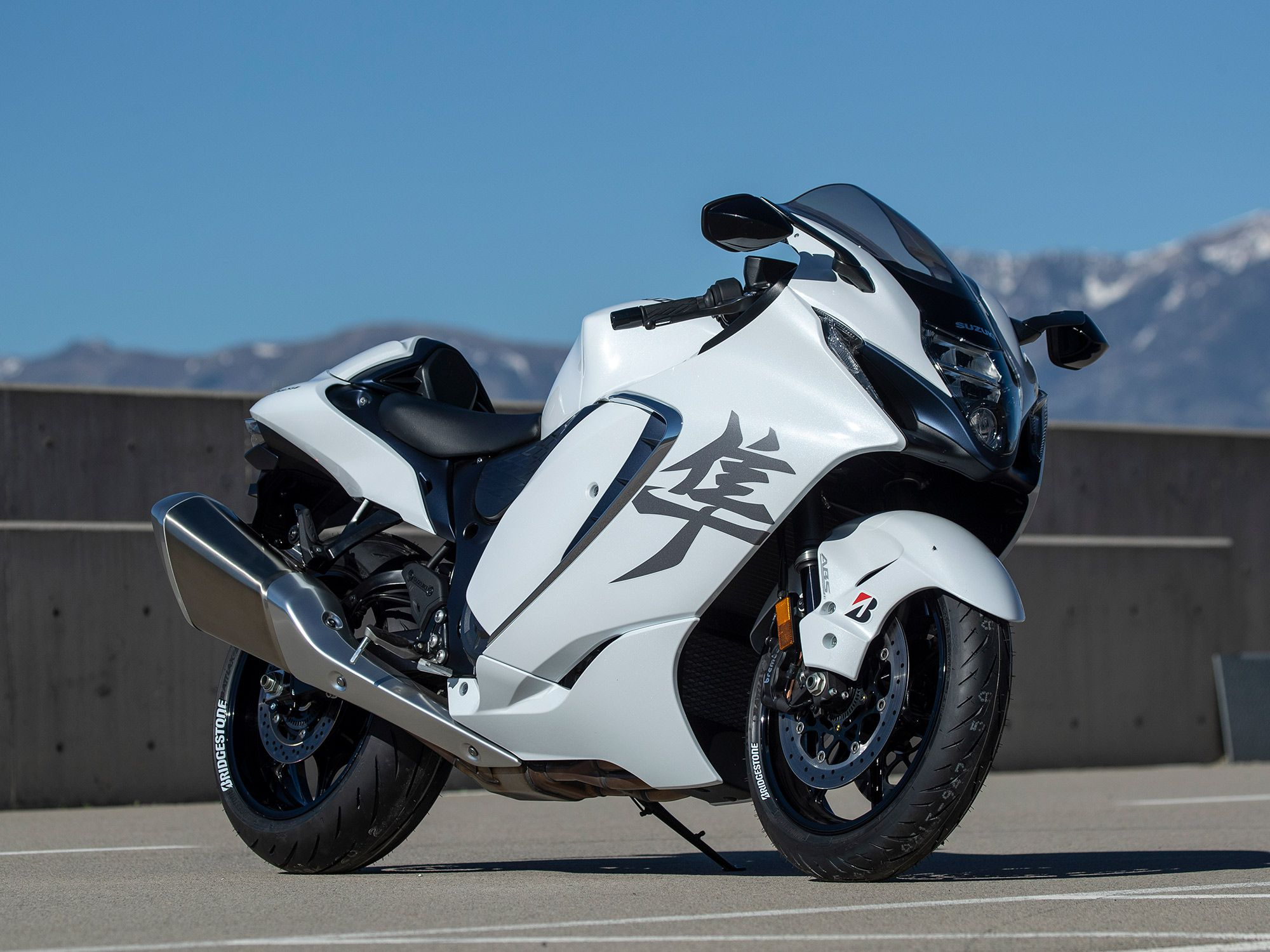 Suzuki's 2022 Hayabusa ($18,599) represents the top of the spear in its current motorcycle model line-up.
