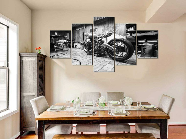 Motorcycle Decor For Your Home Office Or Garage Motorcyclist
