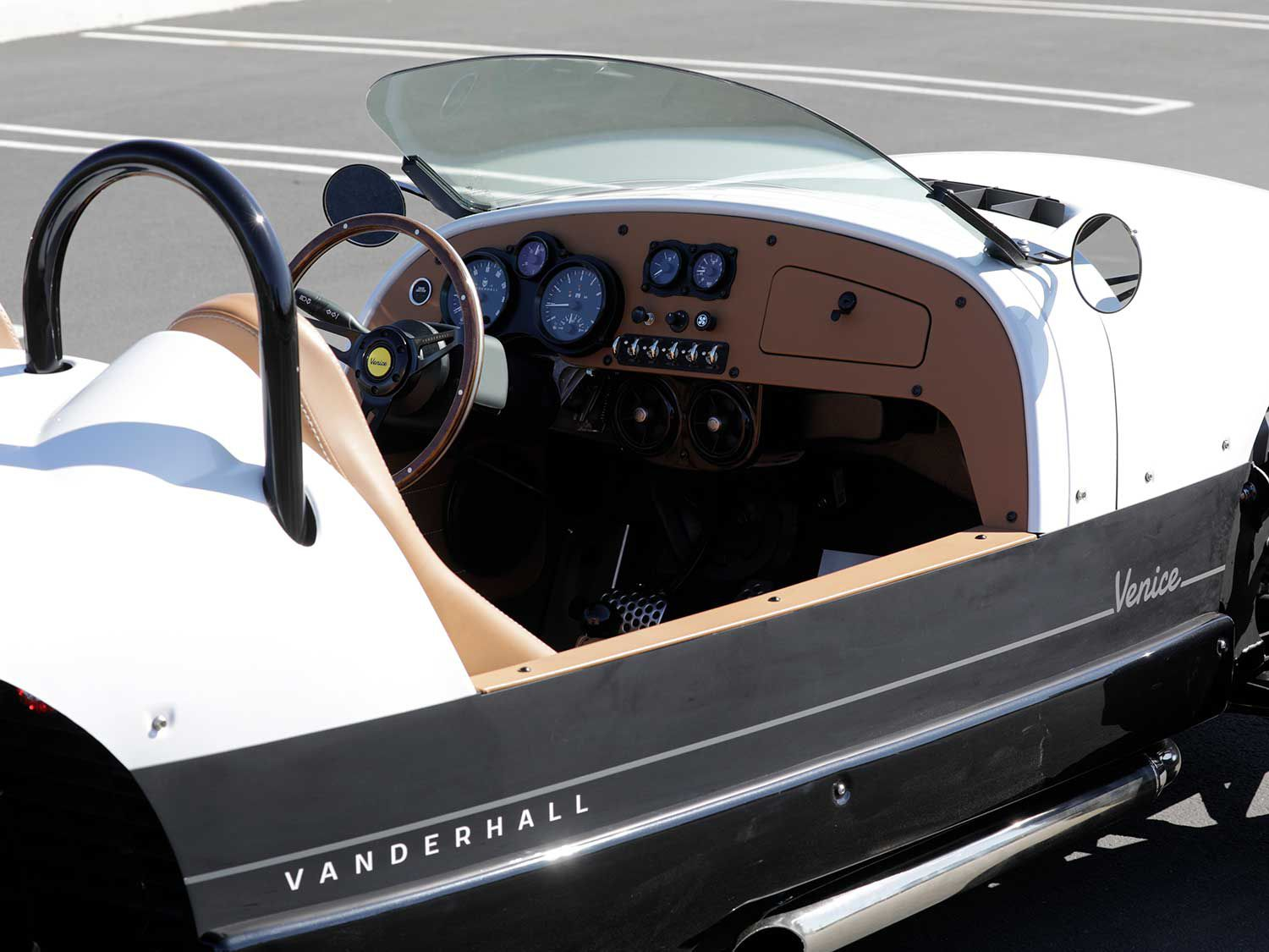Room for two. The Venice GT offers a bespoke interior with plenty of legroom for taller folks.