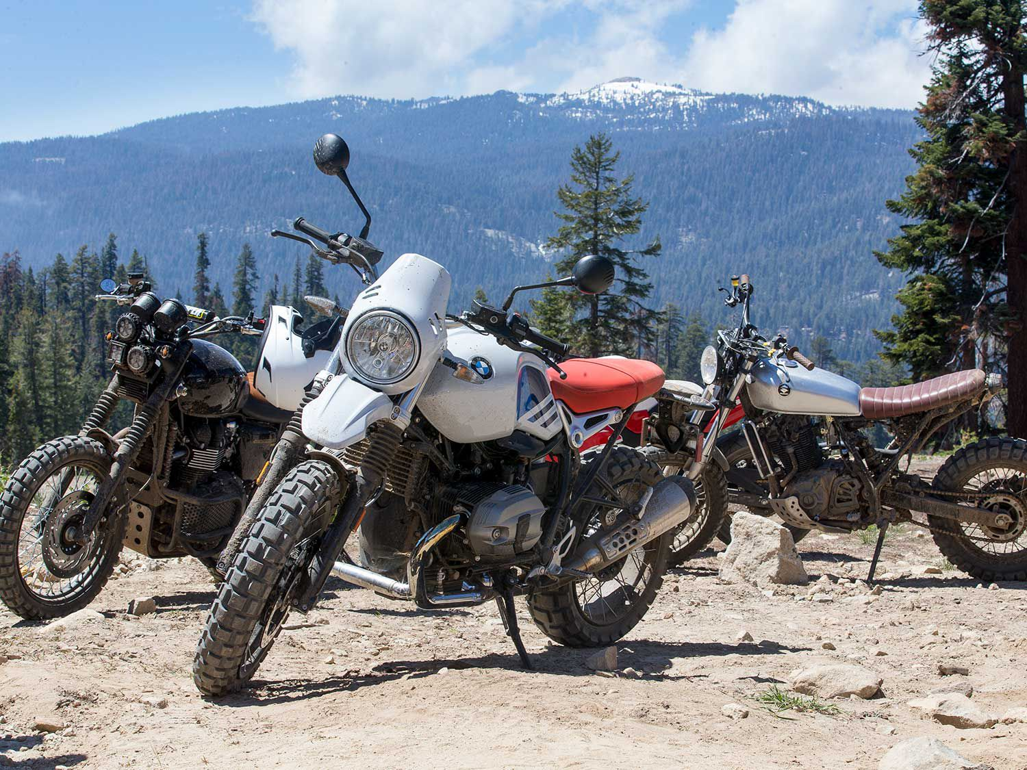 Men, women, children, scramblers, dual sports, dirt bikes—no matter who you are or what you ride, they are all welcome at HighPipe.