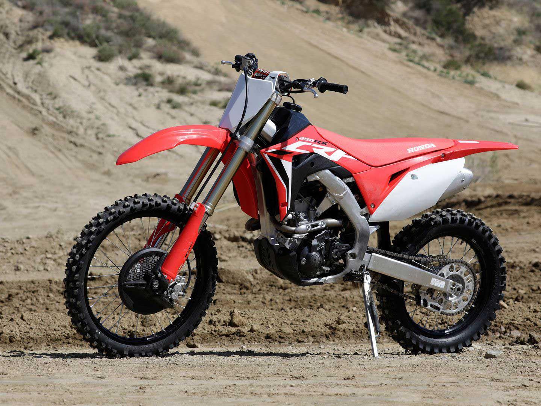 2021 Honda CRF250RX.