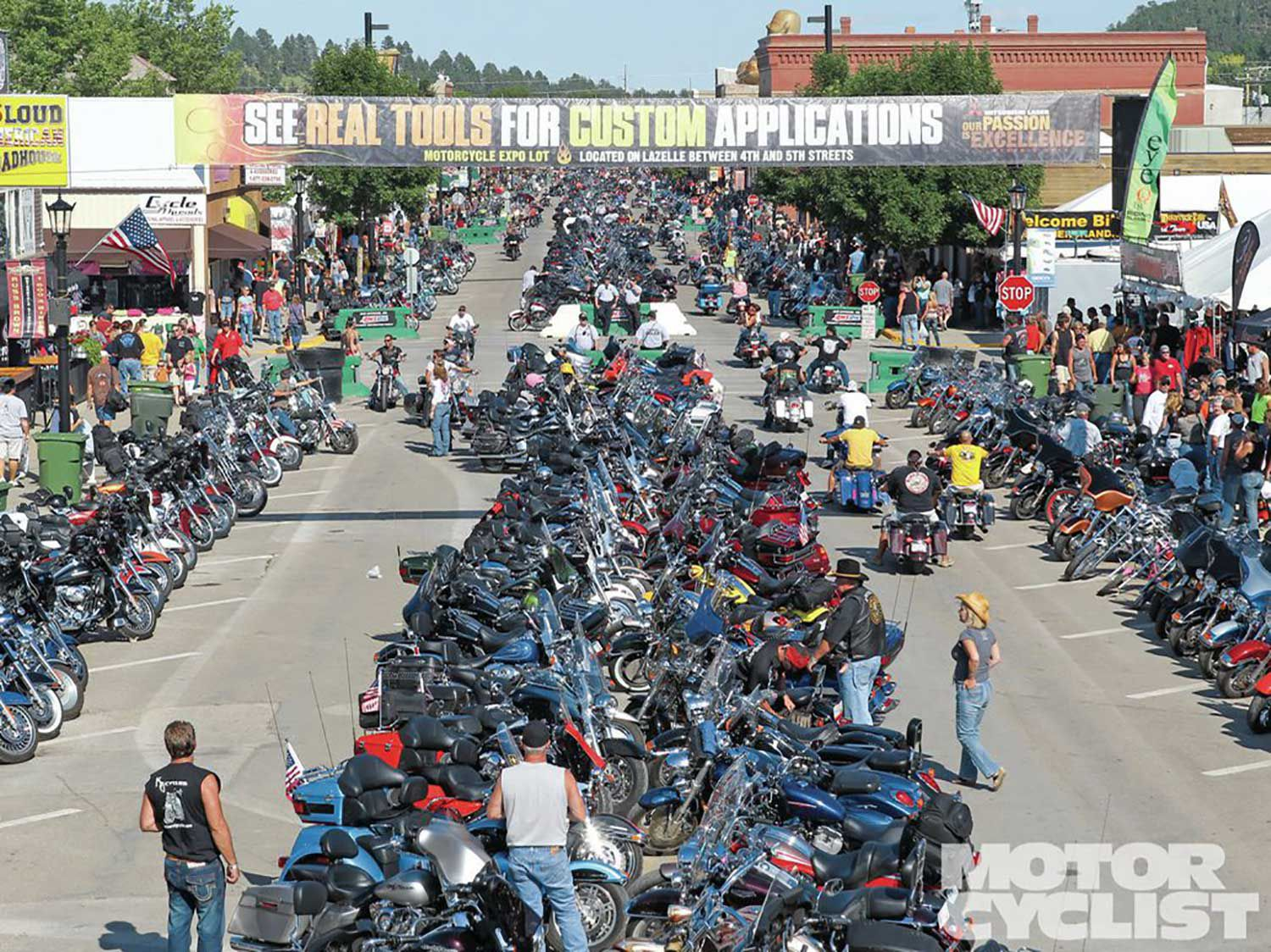 Sturgis organizers expect to surpass 450,000 attendees for the 2019 Sturgis Rally.