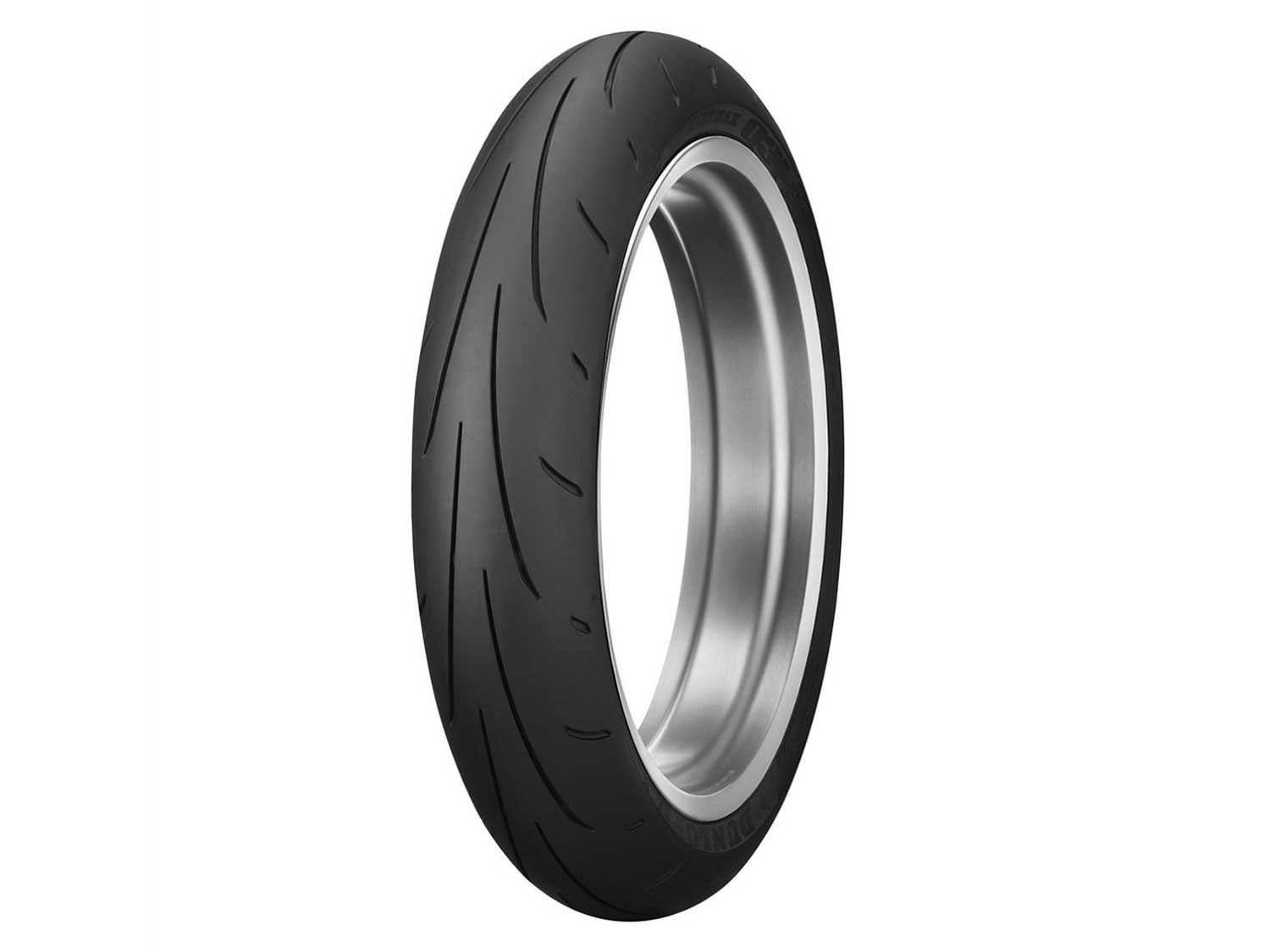 Sport motorcycles perform best with fresh rubber. And Dunlop offers the right shoe for the job with its Sportmax Q3+ tires. The Q3+ tires are designed as a do-it-all tire solution for sport riders who ride in any road condition, both on the street and racetrack. These Sportmax hoops stand out with fast warm-up time, sharp but not overly so contour, and high level of adhesion against asphalt. The icing on the cake is their impressive levels of durability and competitive price tag.
