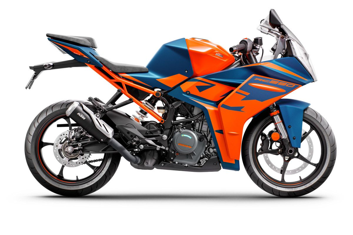 Riders will be able to get their 2022 KTM RC 390 starting in March.