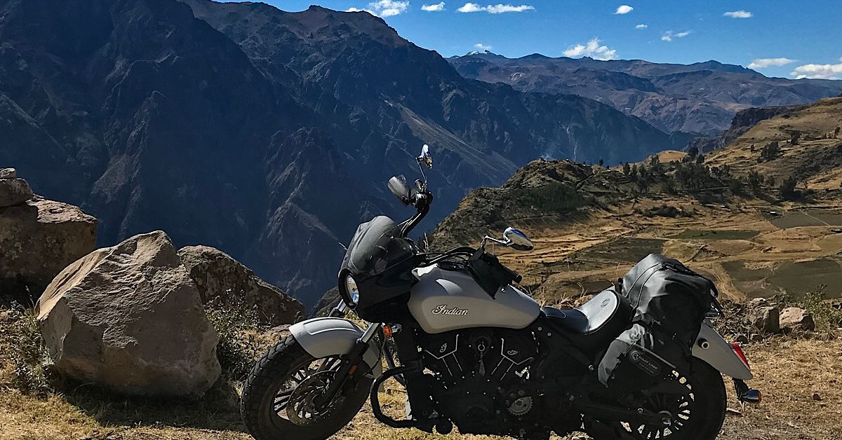 Epic Motorcycle Trips—Riding Peru On Indian's Scout Sixty