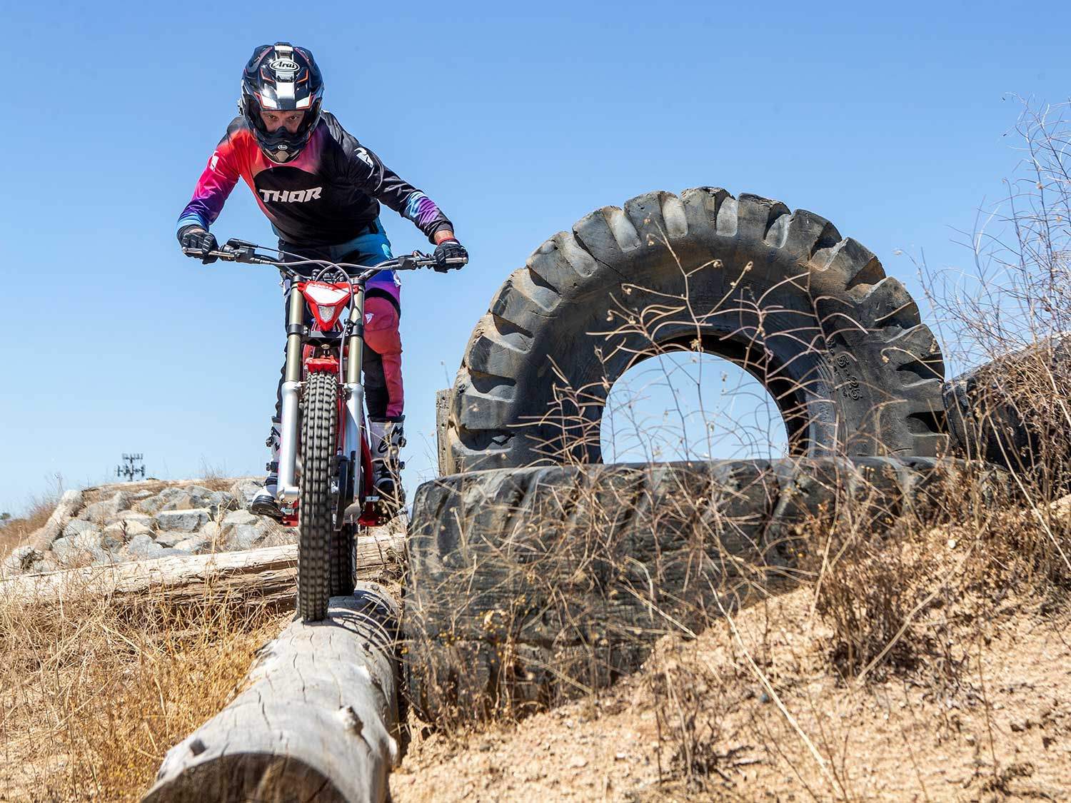 We swing a leg over the 2020 GasGas TXT Racing 250 trials bike in this review.