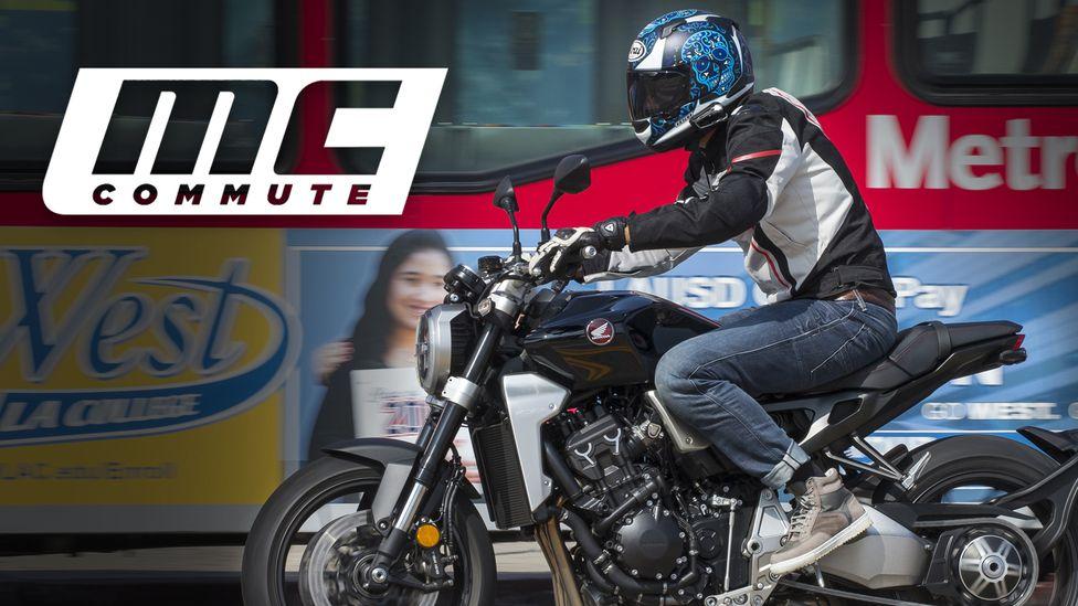 Mc Commute Motorcyclist