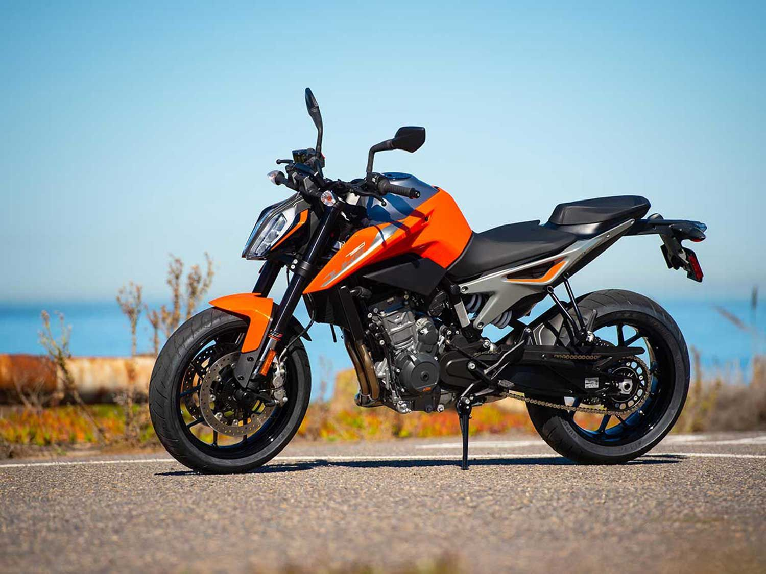 <strong>KTM 790 GT</strong> <br /> The LC8c engine first found in the 790 Duke would make a great powerplant for a middleweight sport-tourer.