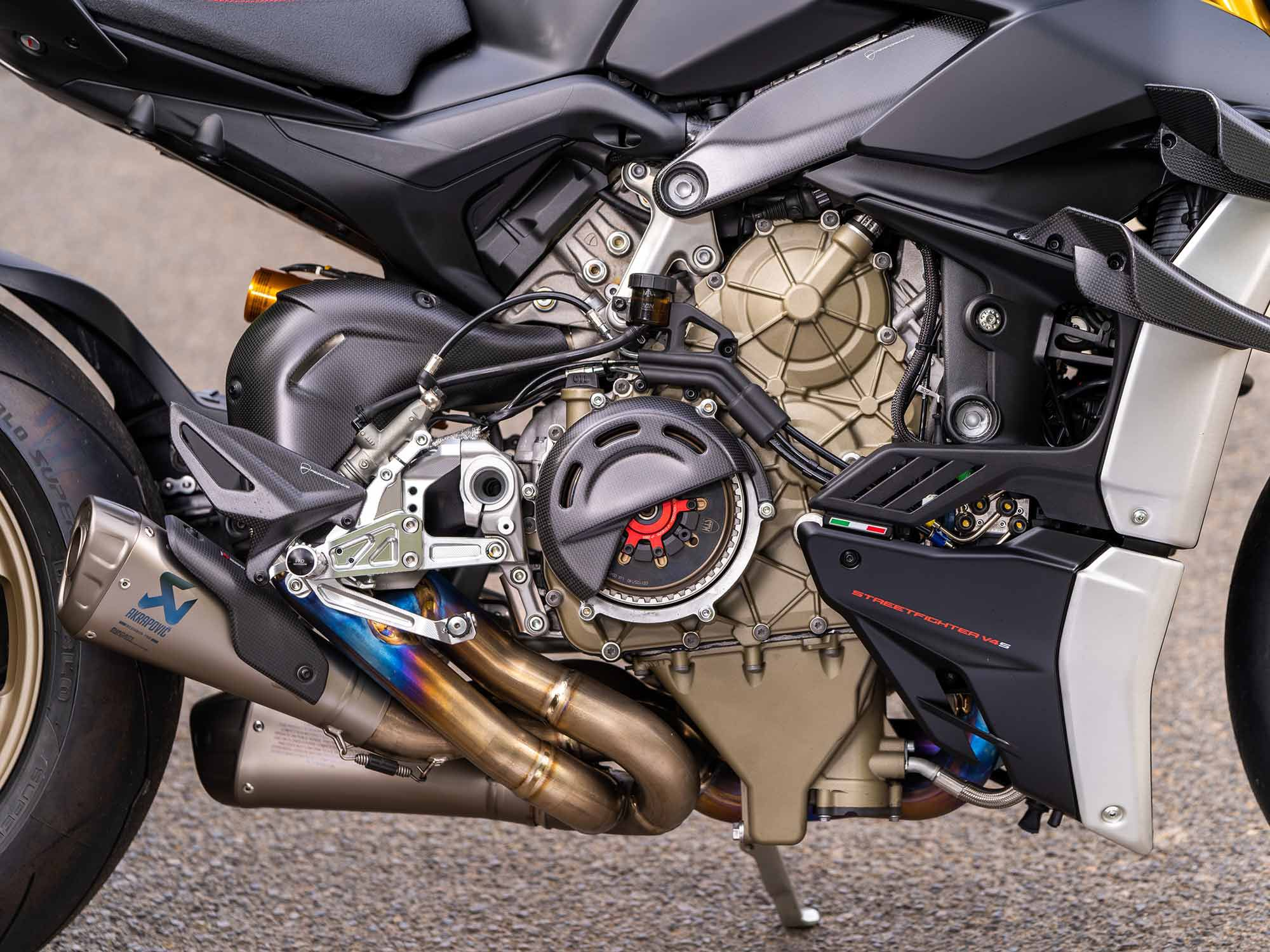 The dry clutch conversion kit is an absolute must-have. If you're an old school Ducati superbike guy or gal, you need this setup.