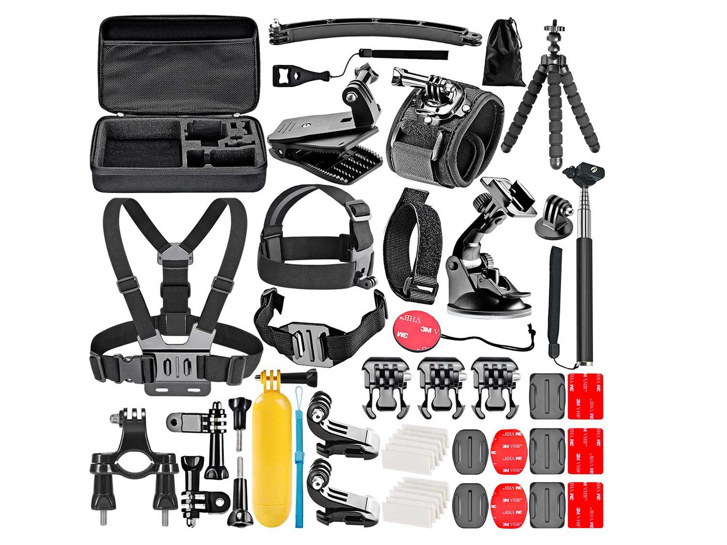 The must-have accessory kit for every GoPro owner.