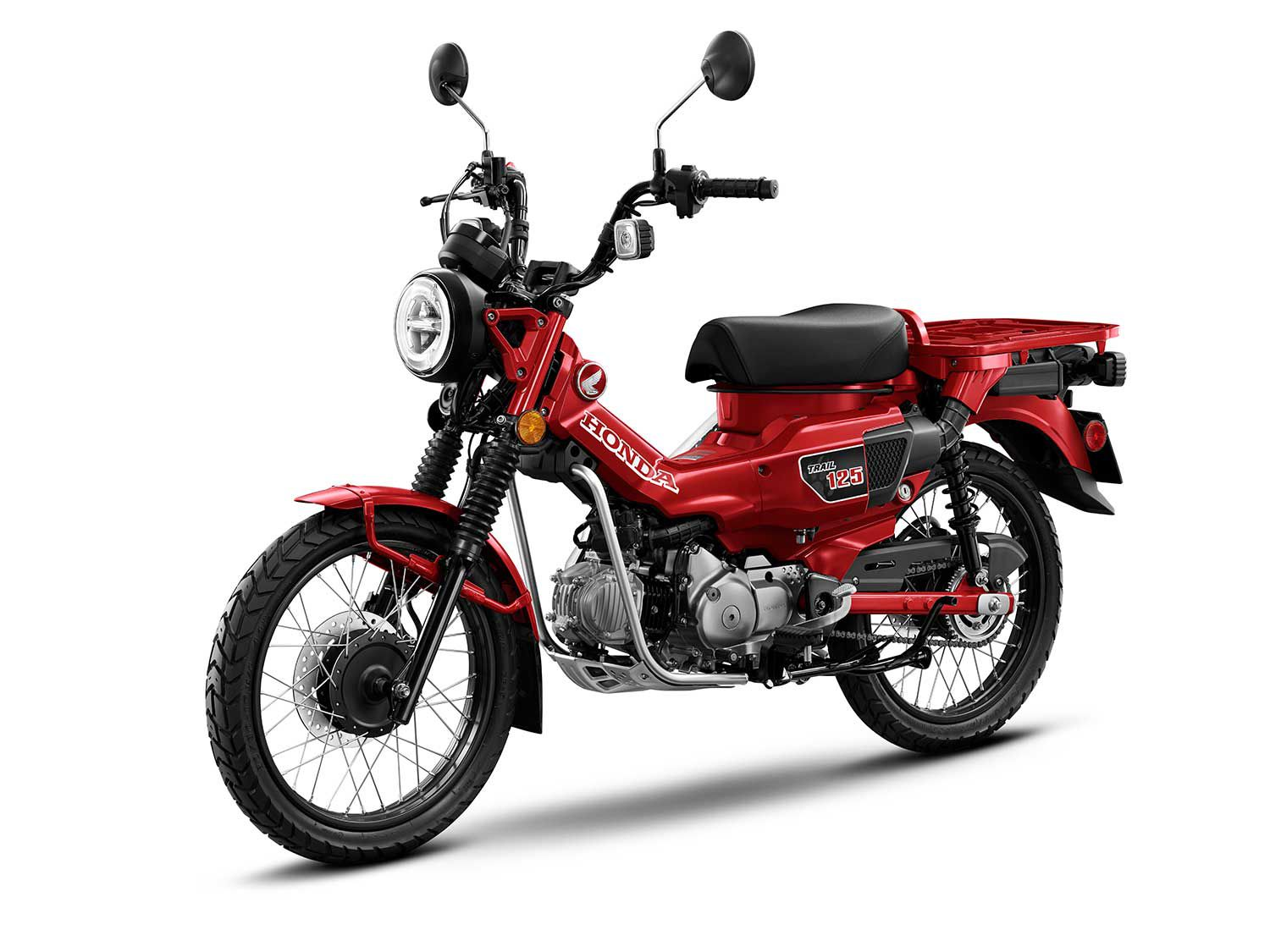 American Honda announces that it will import its Honda Trail 125 ABS for the 2021 model year.