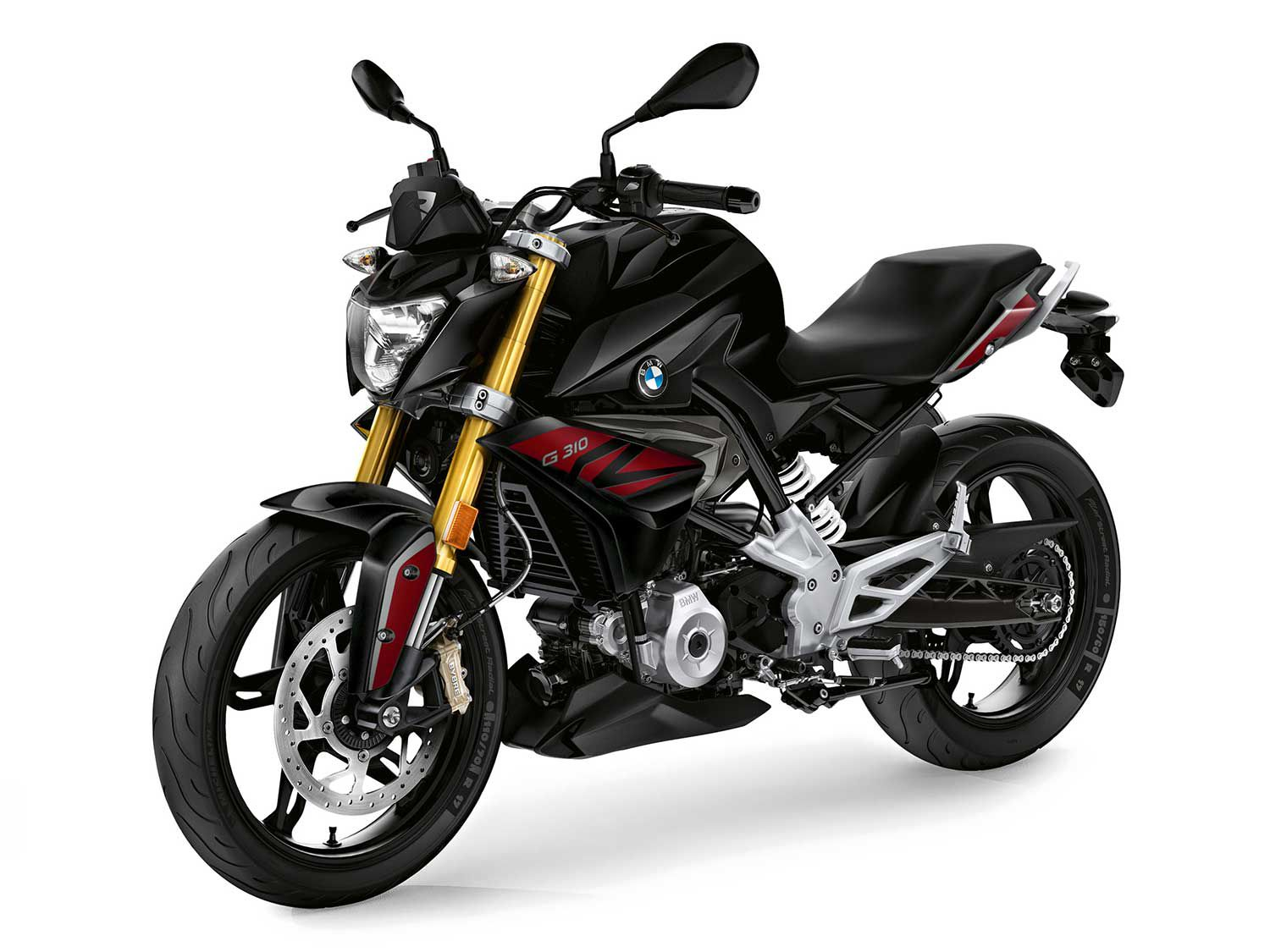 The BMW G 310 R provides high-quality build at a palatable price.
