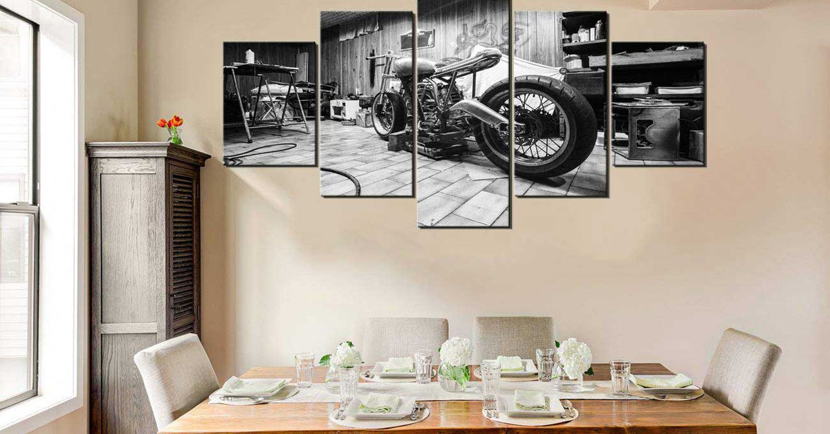 Motorcycle Decor For Your Home, Office, Or Garage