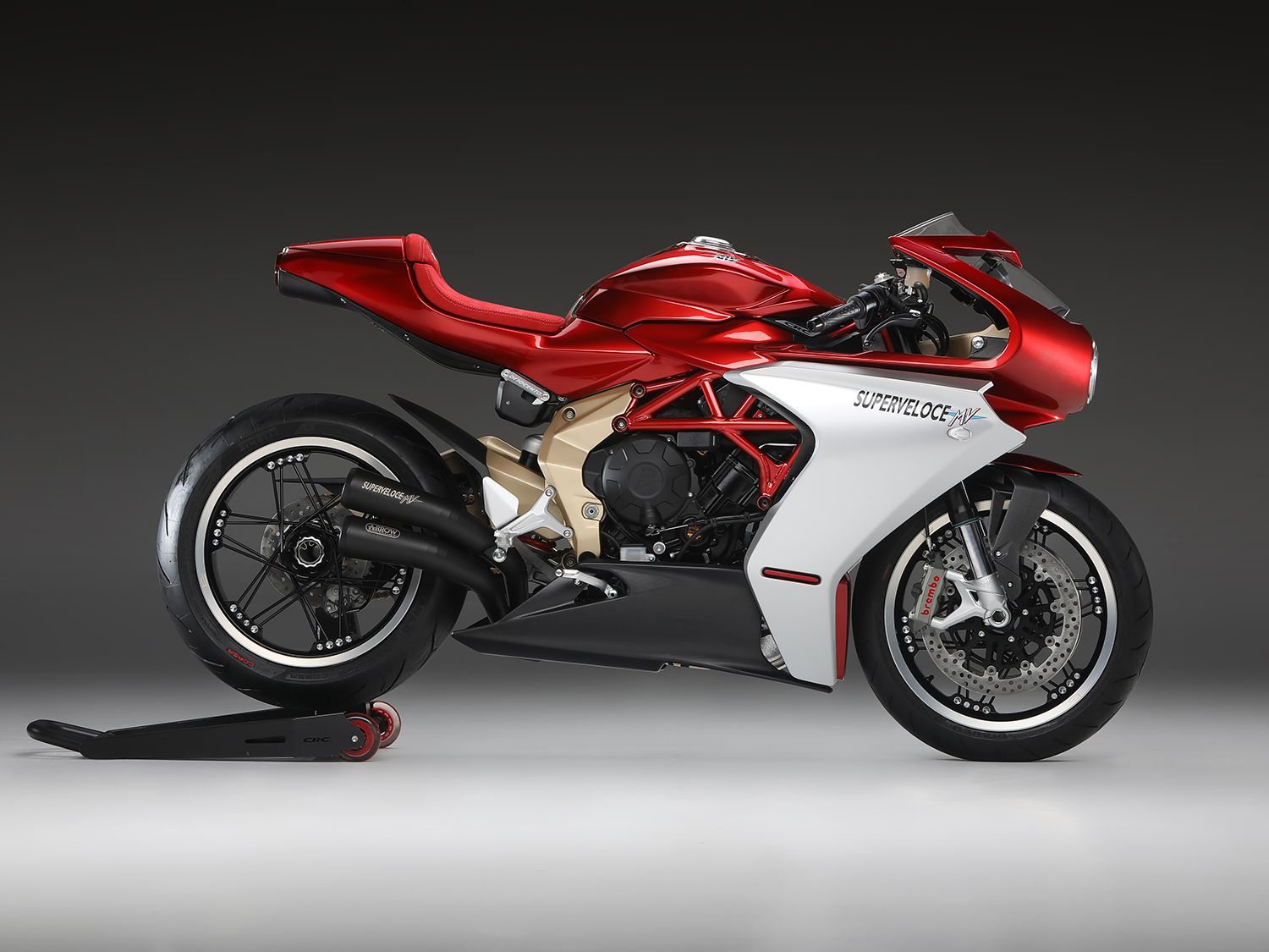 <h2>2020 MV Agusta Superveloce Serie Oro</h2> </br> The 2020 MV Agusta Superveloce Serie Oro will also be making its way from the production lines to dealer floors soon.