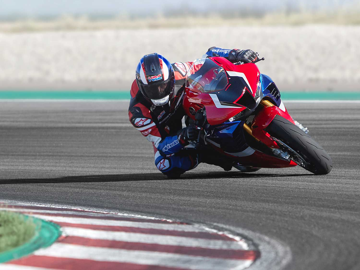 <h2>2021 Honda CBR1000RR-R Fireblade</h2> </br> Honda's superbike to keep up with the heavy horsepower hitters is the 2021 CBR1000RR-R Fireblade.