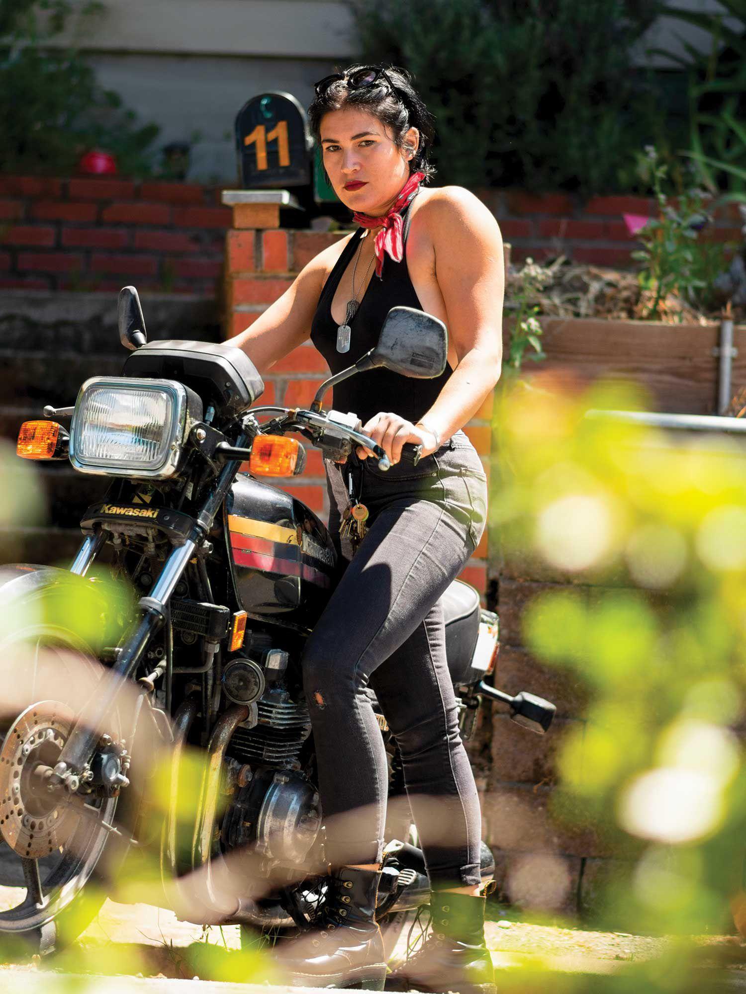 California opera singer, Nikola Printz tells her story of how she got into motorcycling.