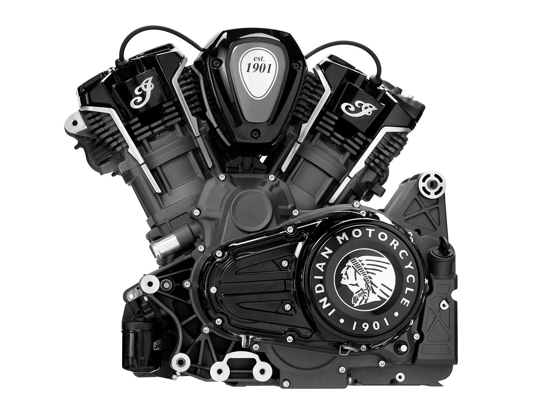 The PowerPlus 108ci V-twin revs to 6,500 rpm.