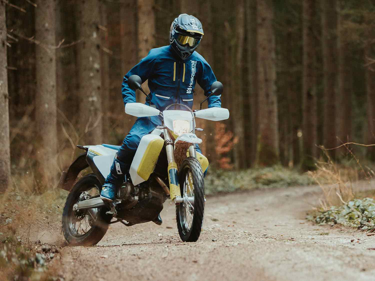 ABS can be disengaged for more fun off road.