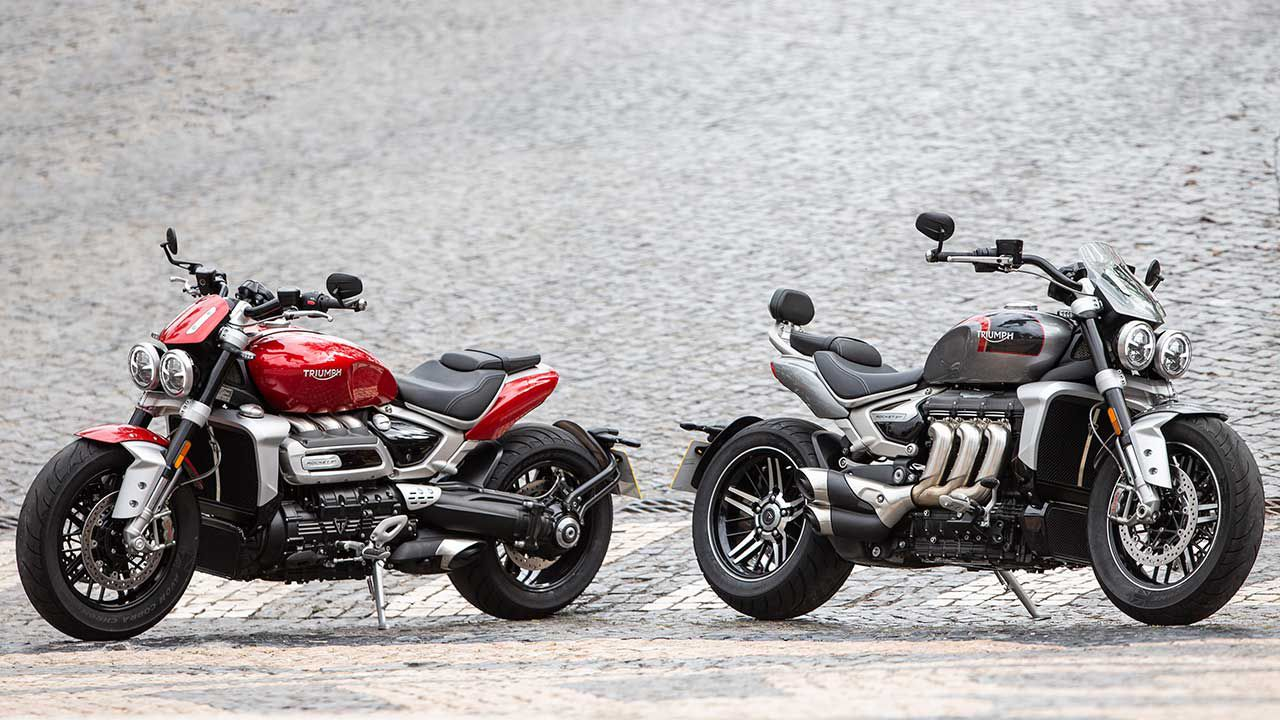 "<a  href=""https://www.motorcyclistonline.com/story/reviews/triumph-rocket-3/"">2020 Triumph Rocket 3 R And 3 GT Review</a>"