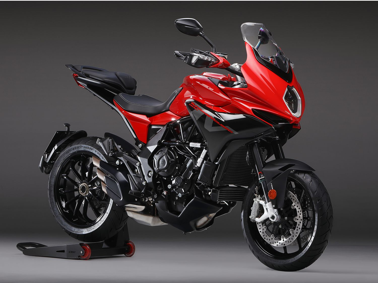 "<h2>2020 MV Agusta Tourismo Veloce 800 Rosso</h2> </br> One of the three in MV Agusta's ""Red Range"" is the 2020 Tourismo Veloce 800 Rosso. The other two include the Dragster 800 Rosso and Brutale 800 Rosso."