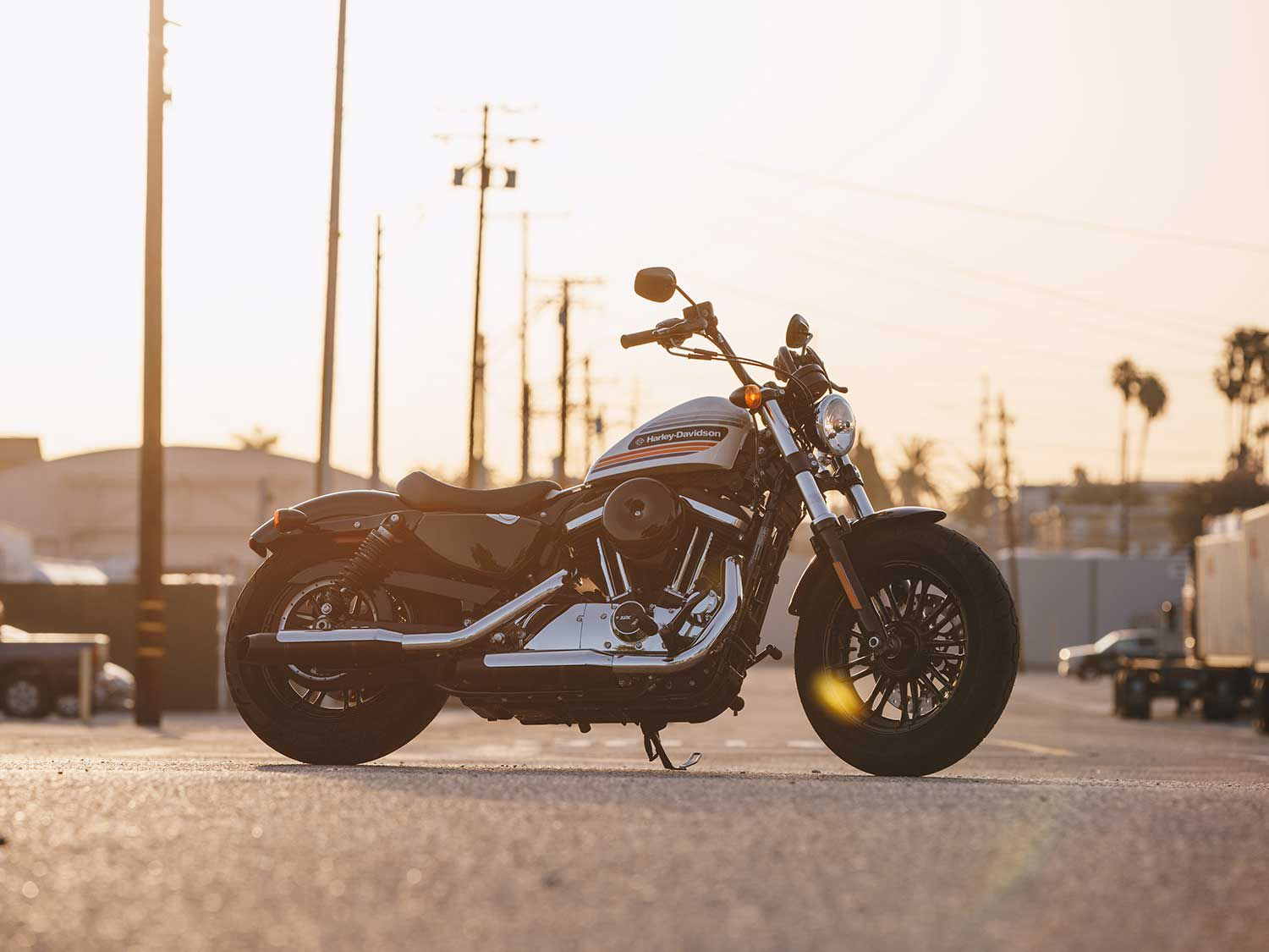 The Harley-Davidson Forty-Eight Special.