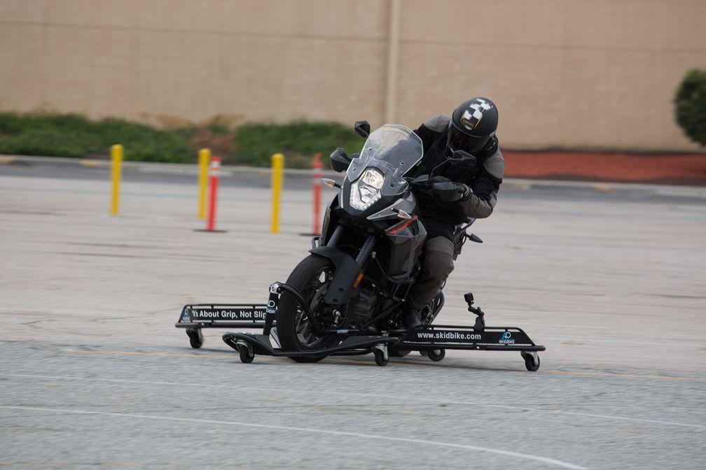 Uncrashable Motorcycle: The KTM 1190 Adventure Skidbike | Motorcyclist