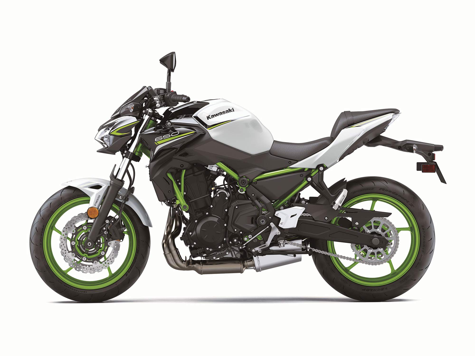 2021 Kawasaki Z650.