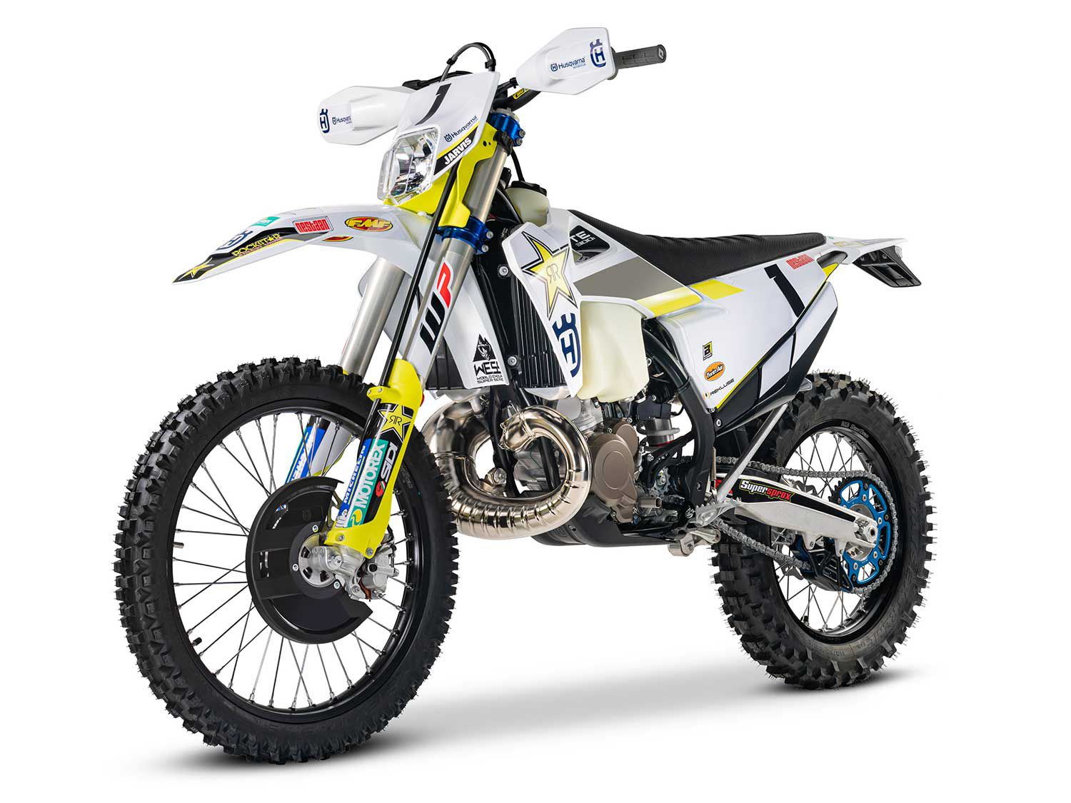 <h2>2020 Husqvarna Jarvis Edition of the TE 300i</h2> </br> Husqvarna pays tribute to Rockstar Energy Husqvarna factory racer Graham Jarvis with the 2020 Jarvis Edition of the TE 300i.