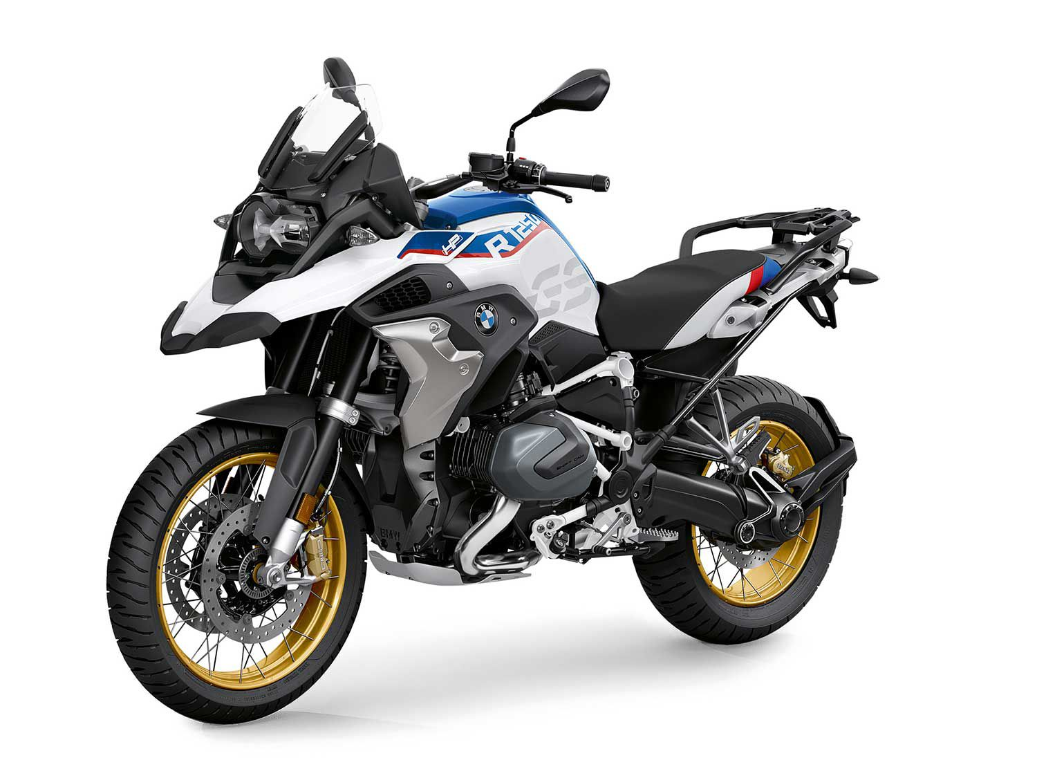 The R 1250 GS is a great commuter despite its size.