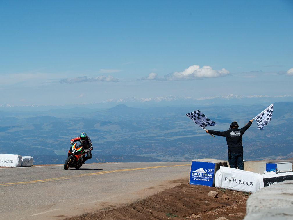 Best Motorcycle Camera 2020 No Motorcycle Racing For The 2020 Pikes Peak Hill Climb | Motorcyclist