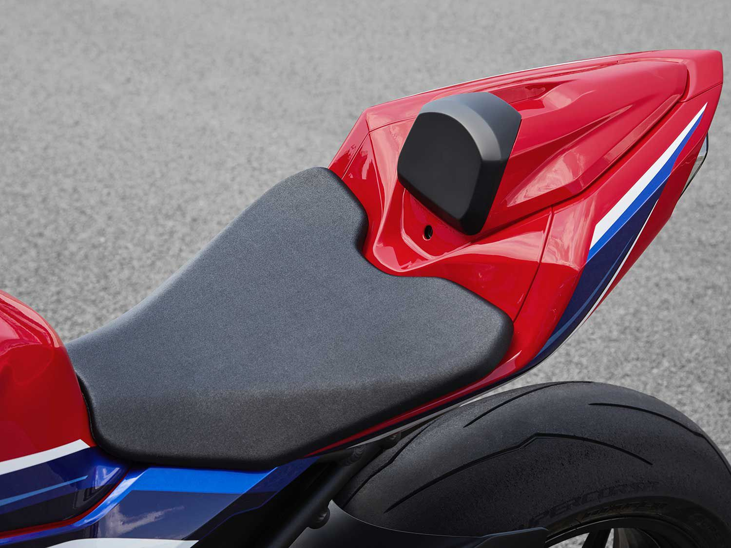 The rider seat is 0.3 inch higher than before. It also appears longer with ample room for taller riders.