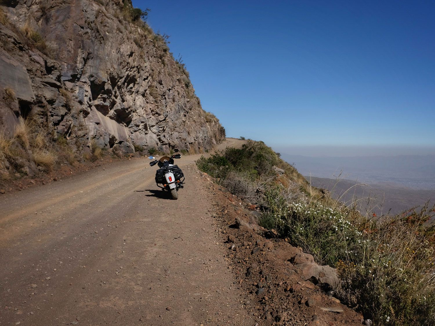 Life on the edge—riding solo and learning greater humility in Peru.