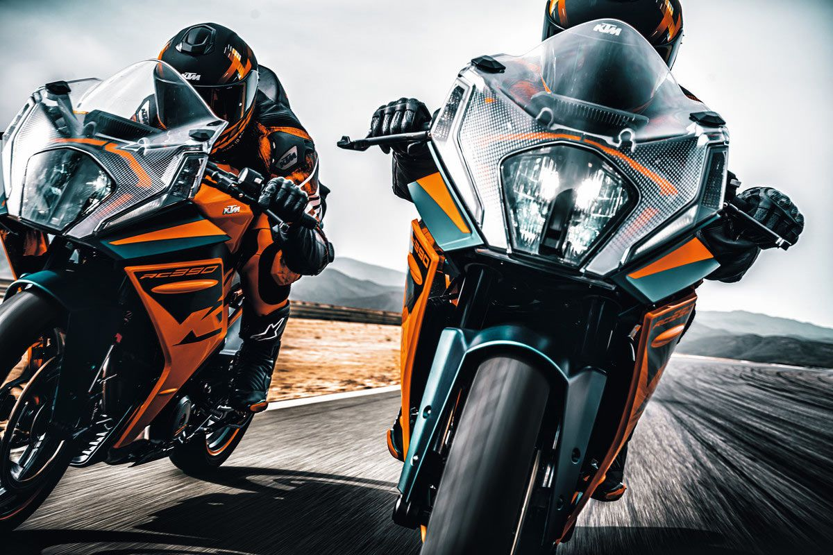 The new and improved RC 390 is here for 2022.