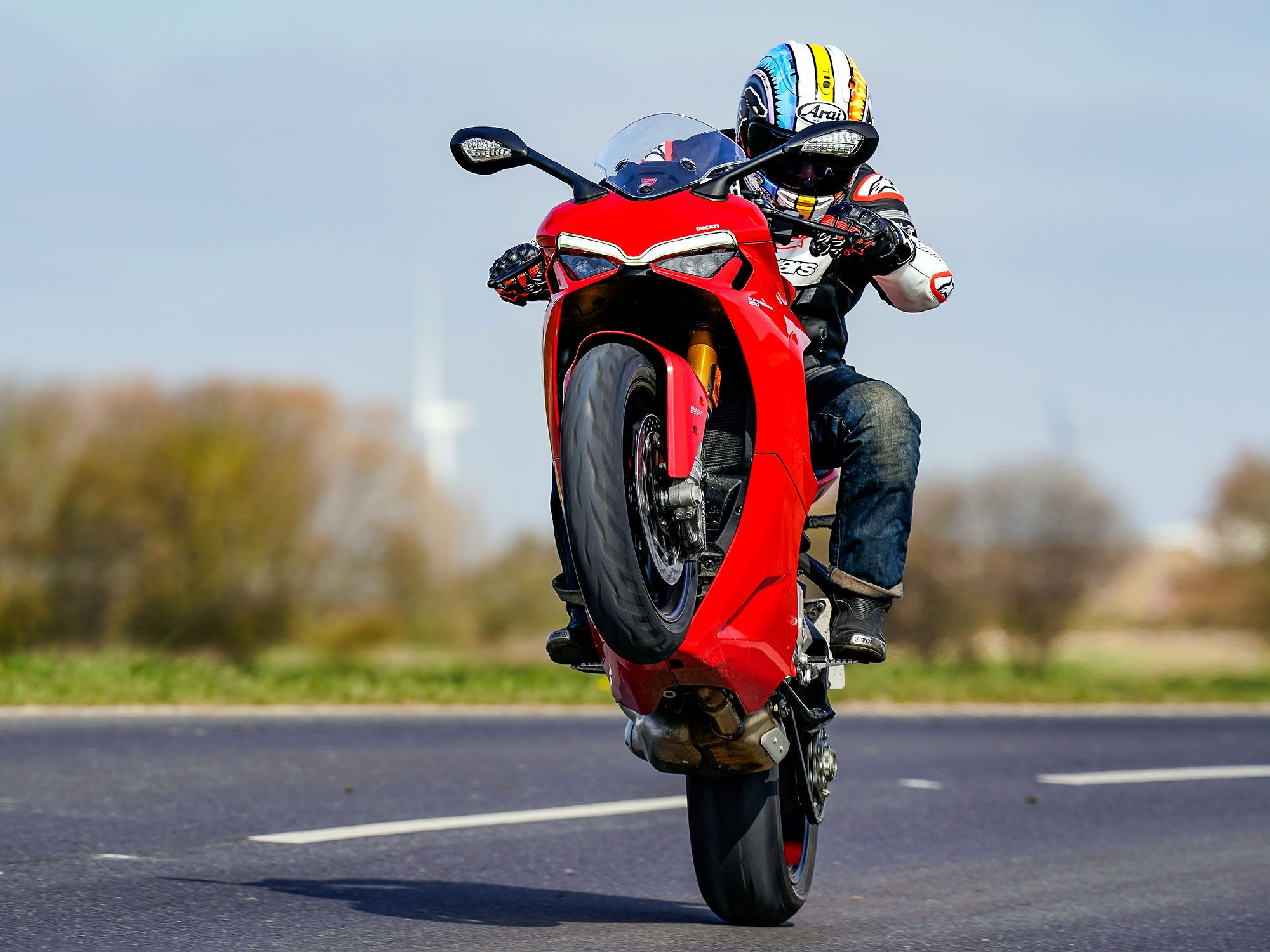 Ducati revised the exhaust and fueling to ensure the new 2021 model achieved Euro 5 standard, which wasn't the hardest job in the world as the engine is shared with the Hypermotard 950 and Multistrada 950, models that are already Euro 5 compliant.