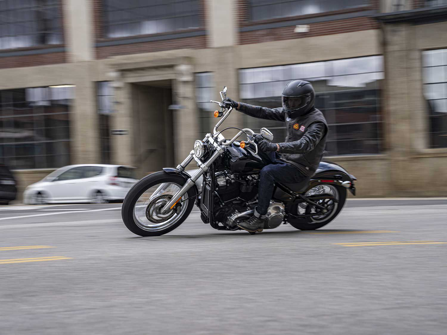 The new Softail Standard starts at $13,599.