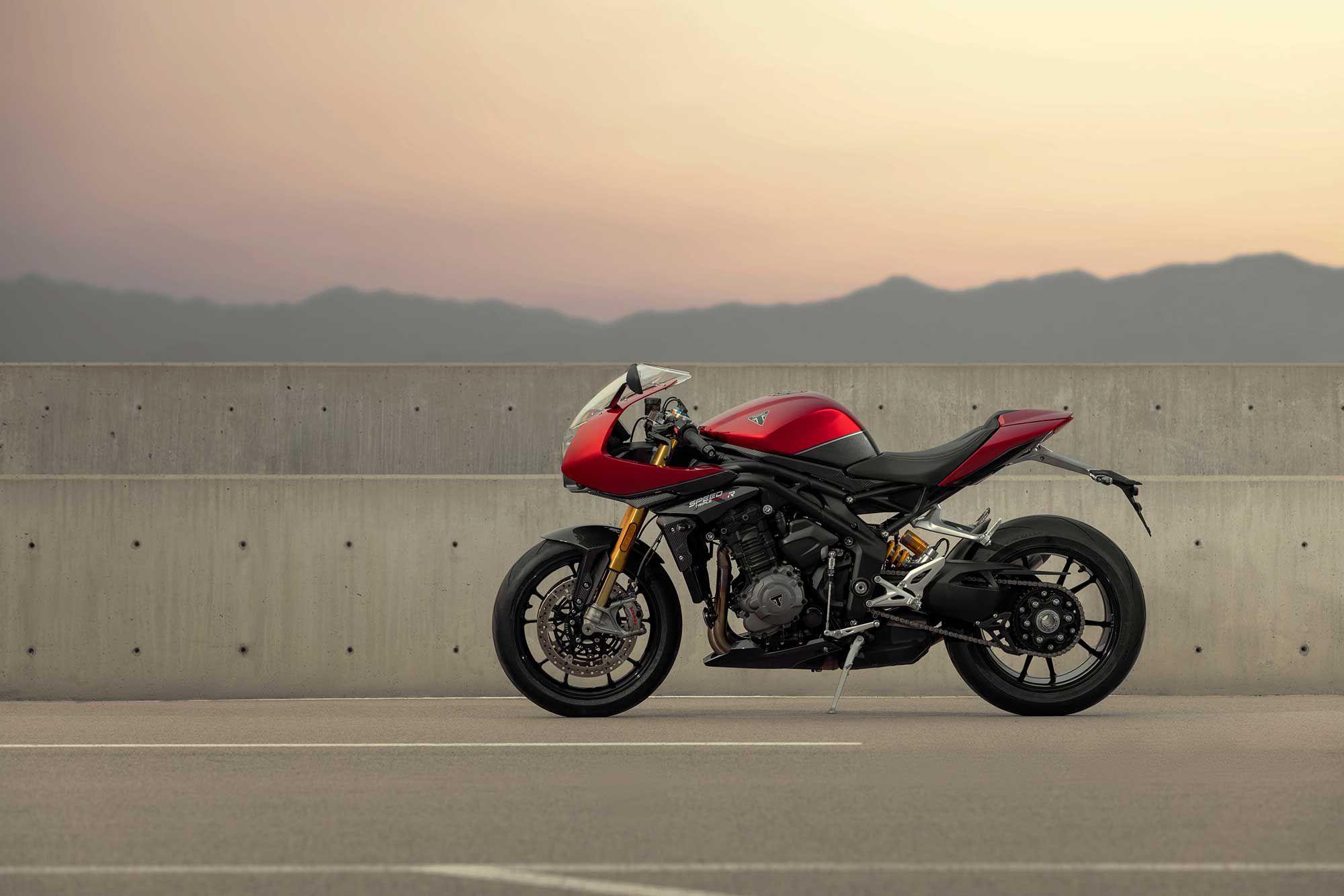 Meet the new Triumph Speed Triple 1200 RR.
