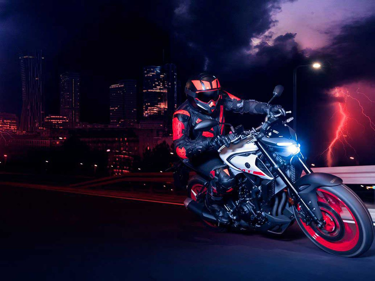 For entry-level riders the Yamaha MT-03 is likely to be an enticing prospect.