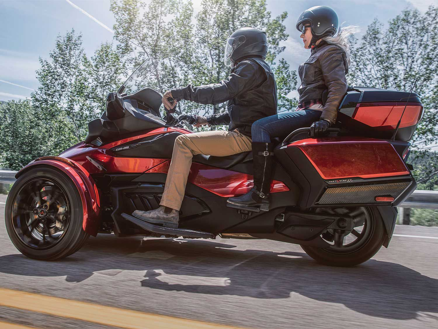 The RT Limited offers up to 47 gallons of luggage capacity.