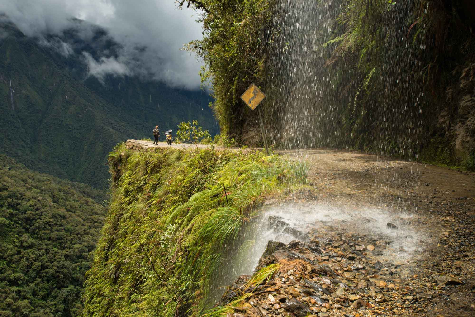 """Having survived Bolivia's """"Road of Death"""" down and back up again, it left me windblown, the mind blown and exhilarated. The visceral experience of jaw-on-the-floor views fast became a regular reward from the two years of saving and sacrifice to get there. (La Paz and Yungas region, Bolivia)"""