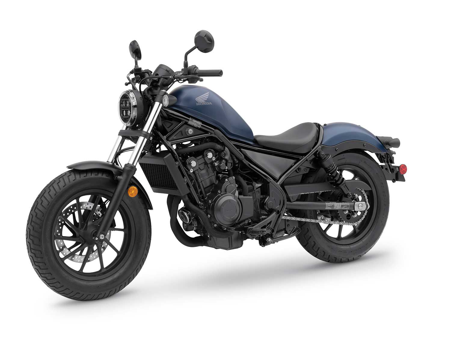 The Rebel 500 will also feature stiffer spring rates in 2020 at the front and rear.
