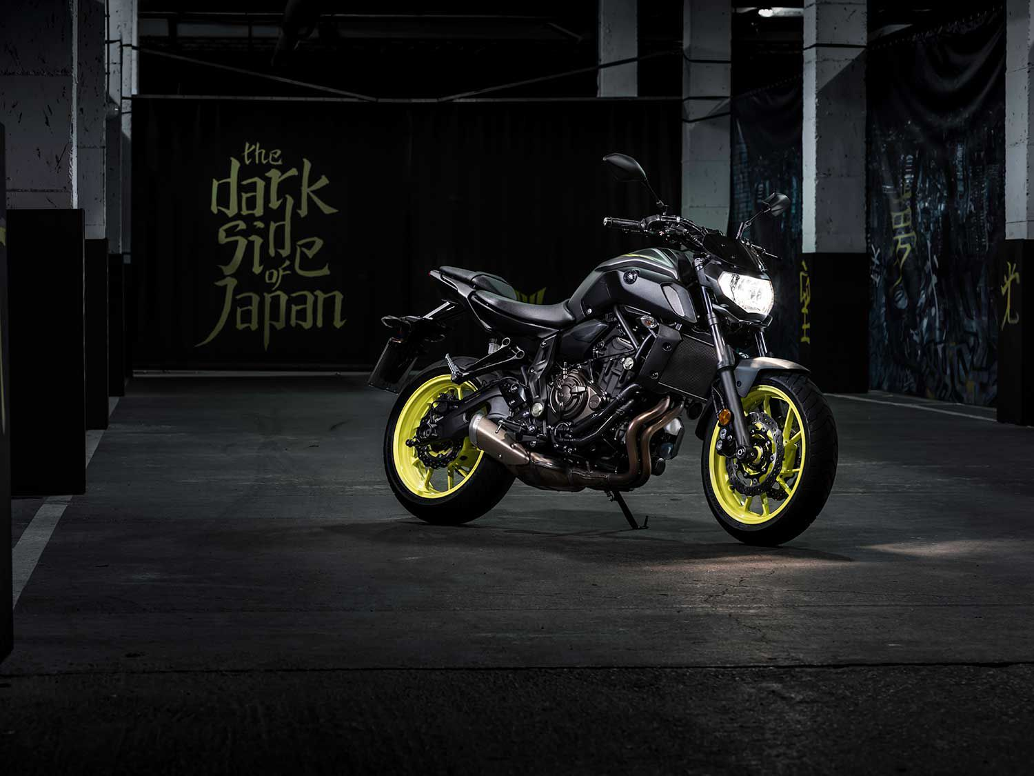 """The MT-07 begs the question, """"Do you really need any other motorcycle?"""""""