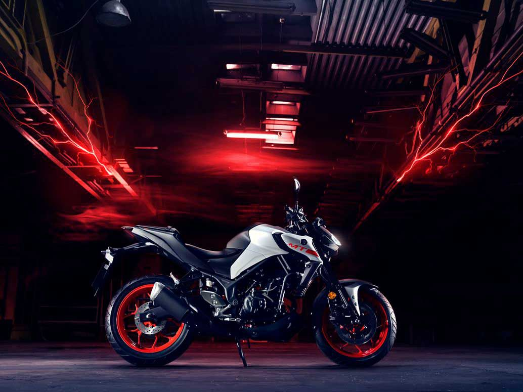 The Yamaha MT-03 is a budget-friendly machine, great for commuting and able in the corners.