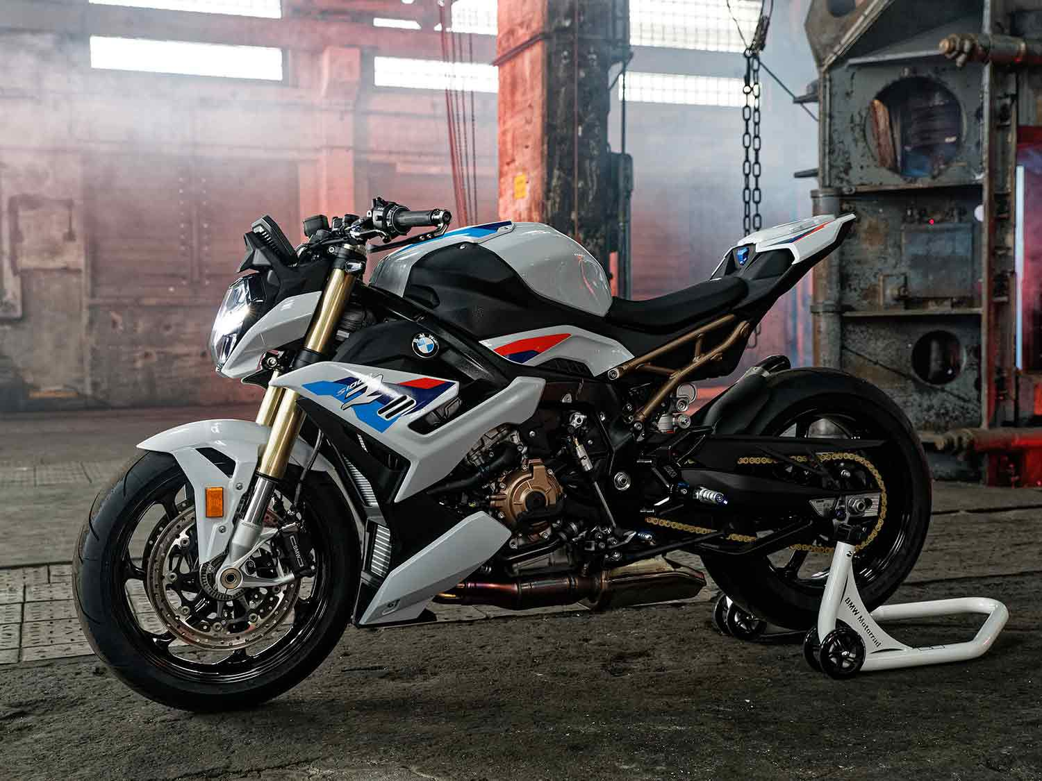 Riders will be seated in a more aggressive position than before on the new S 1000 R.