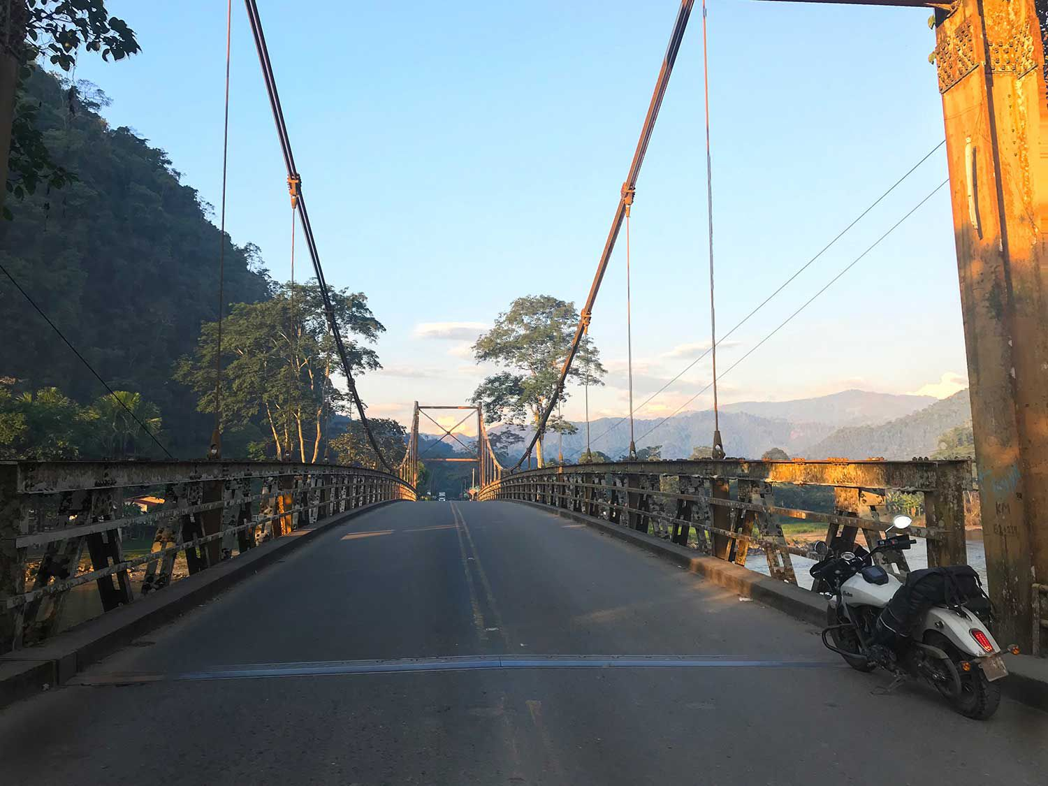 Adventuring Peru by motorcycle is full of wonders and surprises around every corner and across every bridge.