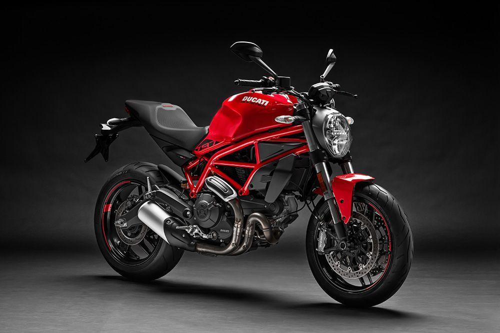 Ducati Monster 797 (2019 model year shown)