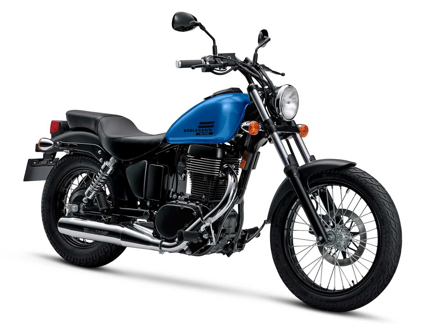 A classically styled cruiser unfettered by the latest motorcycle gizmos.